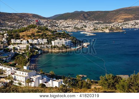 Bodrum, Turkey - View Of The End Of The Day
