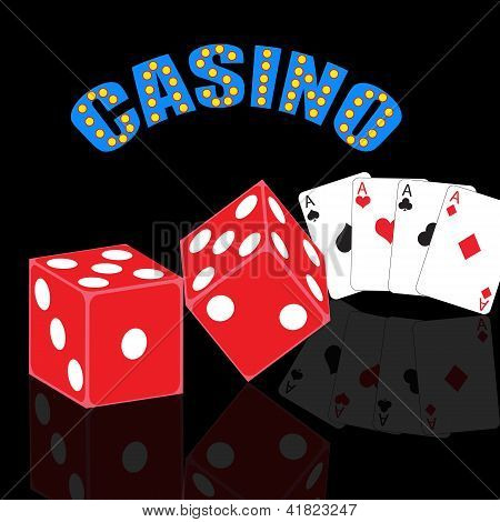 Casino Abstract Background