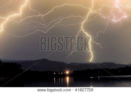 Rocky Mountain Thunderstorm
