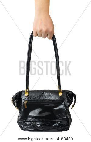 Mão com saco