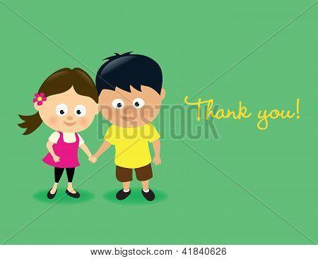 Kids thank you