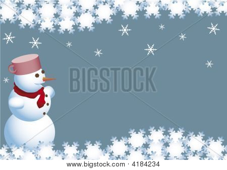 Christmas Wishes Of The Snowman