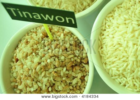 A Variety, The Tinawon Rice