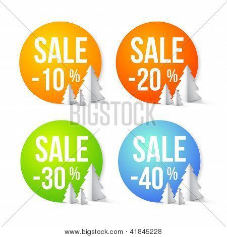 Porcentagens de venda