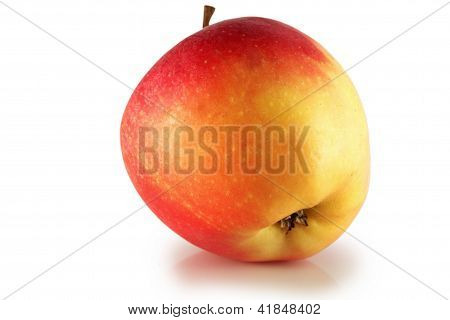 Red Ripe Apple.