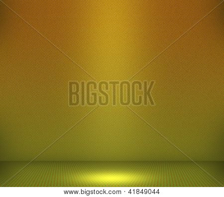 Yellow Simple Spotlight Background