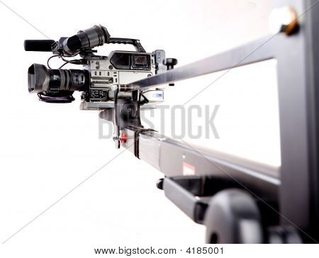 Camcorder On Crane
