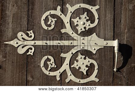 Ornamental Door HInge