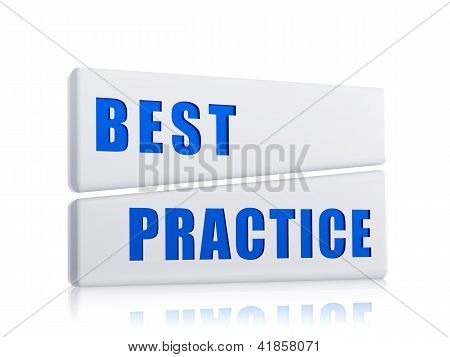 Best Practice In White Blocks