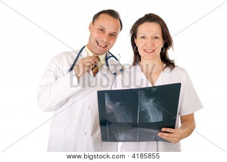 Medical Team Radiography