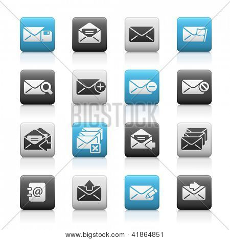 E-mail Icons // Matte Series