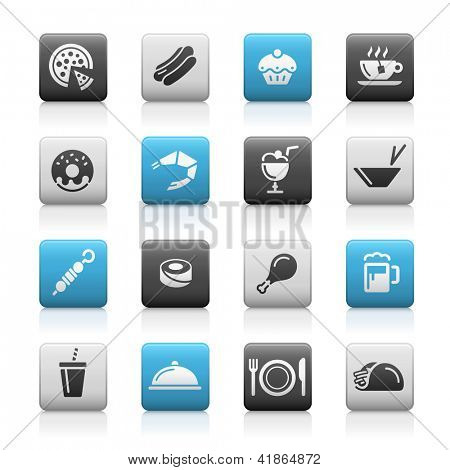 Food Icons - 2 // Matte Series