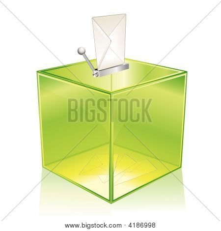 Green Ballot Box