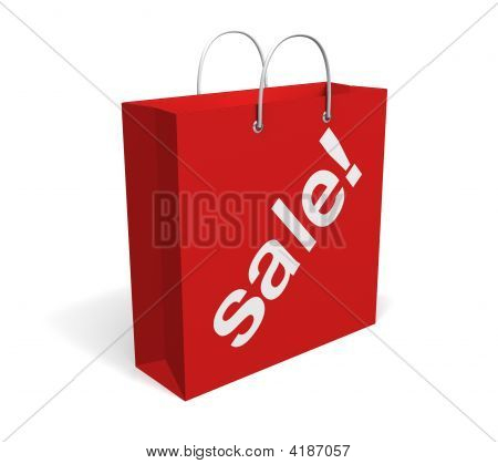 Sale Bag Isolated