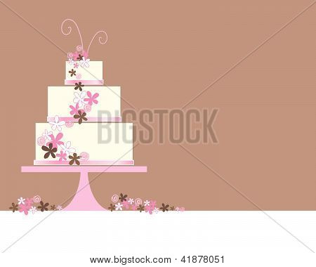 Wedding Cake Abstract