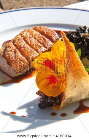 Grilled Duck Fillet