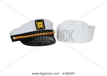 Nautical Hat And Sailor Cap