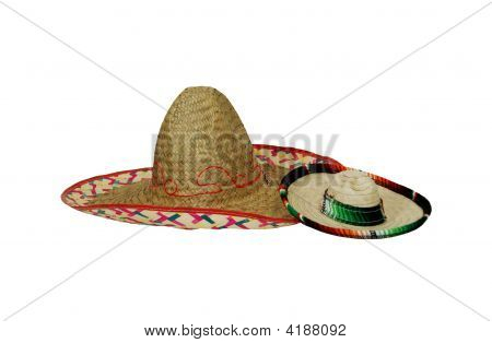 Large And Small Sombreros