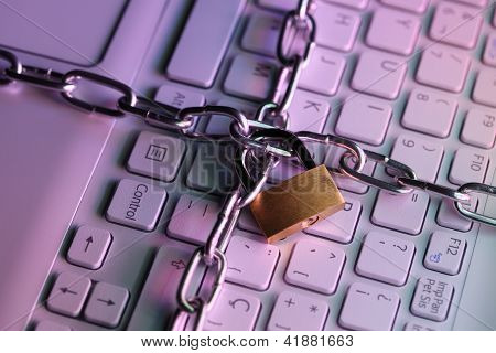 Locked Laptop Keyboard