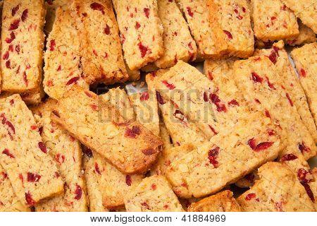 Walnut Cranberry Biscuits