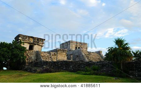 Mayan Temple - The Castle In Tulum