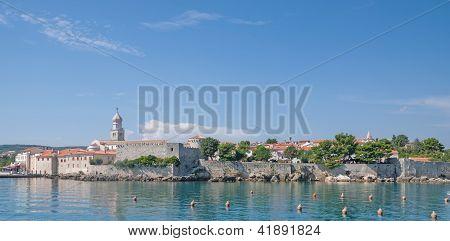 Krk Town,Krk Island,Croatia