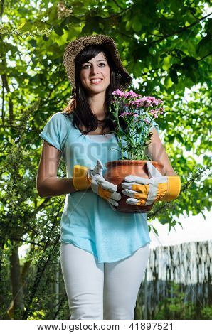 Carrying Flowerpot