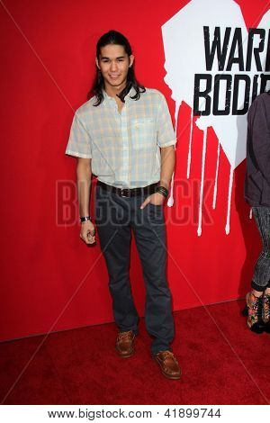 LOS ANGELES - JAN 29:  BooBoo Stewart arrives at the
