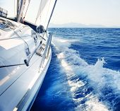 stock photo of yachts  - Yacht - JPG