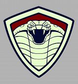 pic of venomous animals  - cobra emblem  - JPG