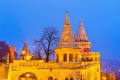 Fisherman Bastion in Buda Castle, Budapest