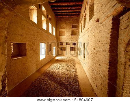 House Interior In Arbil Citadel, Kurdistan, Iraq