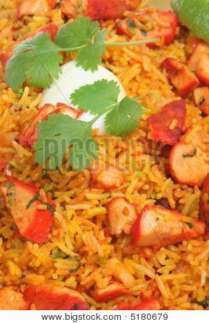 Chicken Tikka Biriani