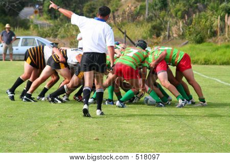 Rugby cuerpo a cuerpo