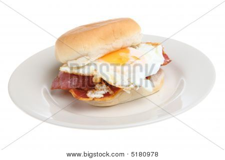 Breakfast Bacon & Egg Roll