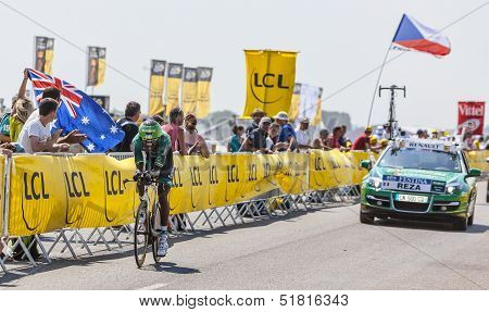 The Cyclist Kevin Reza