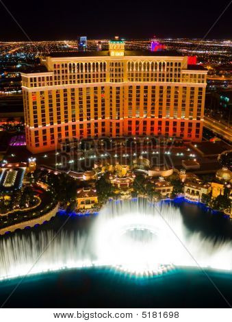 Musical Fountains At Bellagio Hotel & Casino