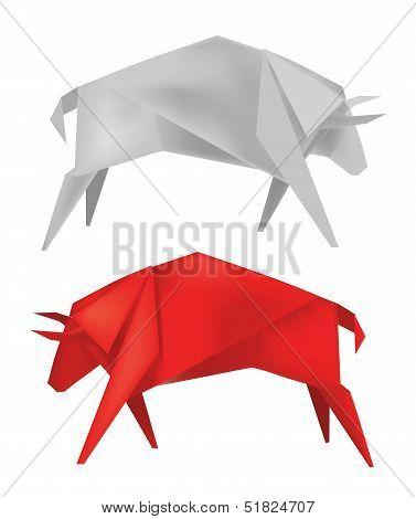 Origami_bull