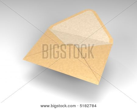 Floating Envelope For Mail