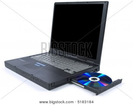 Black Laptop And Dvd