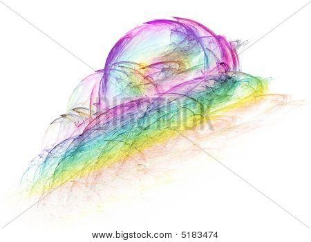 Irisierende Fraktal