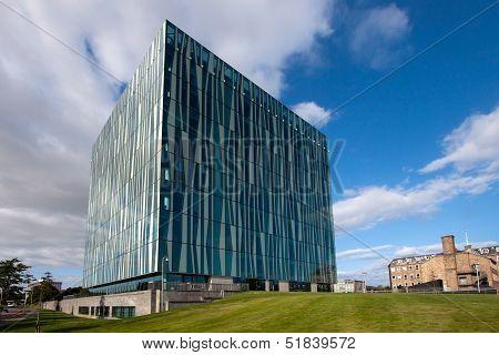 Aberdeen University Sir Duncan Rice Library, Aberdeenshire, Scotland