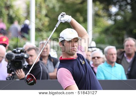 Paul Casey at the Seve Trophy 2013