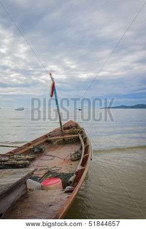 Fishing Boat On The Sea
