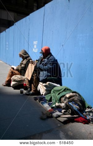 Homeless In Manhattan