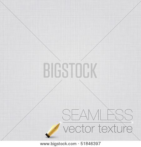 White seamless linen background texture.