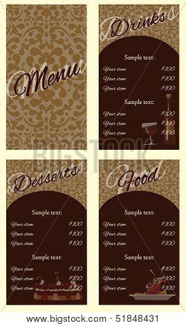 menu background