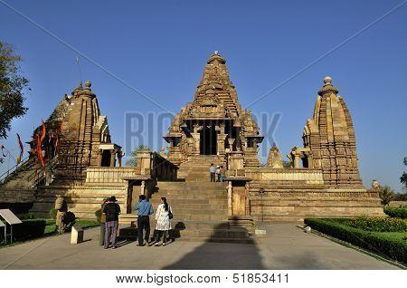 Eastern Temples Of Khajuraho, Madhyapradesh, India