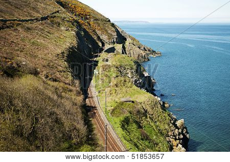 Cliffwalking Between Bray And Greystone, Ireland