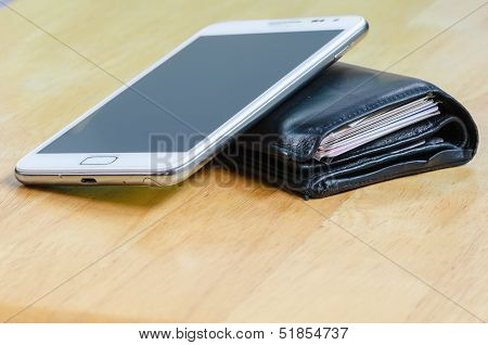 Wallet And Mobile Phone